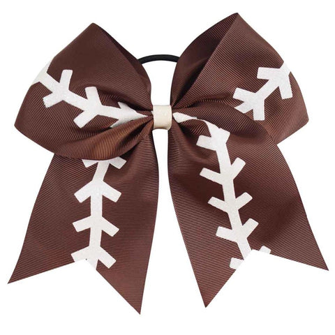 Football Cheer Bow - Paisley Bows