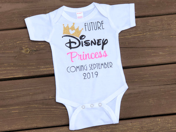 Future Disney Princess Coming - Paisley Bows