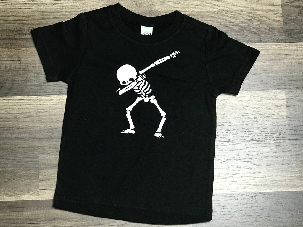 Boys Glow In The Dark Dabbing Skellington - Paisley Bows