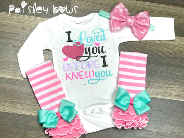 I Loved You Before I Knew You - Paisley Bows