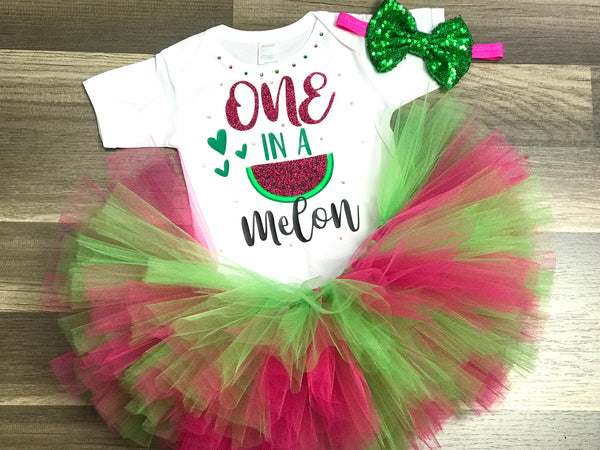 Watermelon First Birthday - Paisley Bows