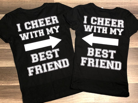 I Cheer With My Best Friend