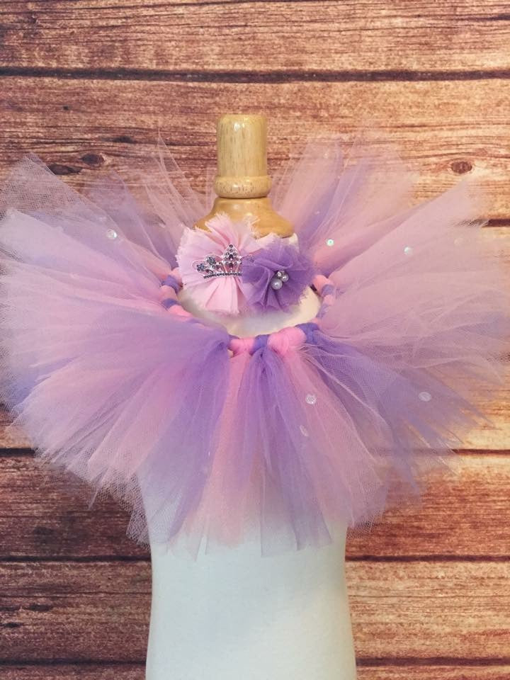 Pink and Lavender Princess Tutu