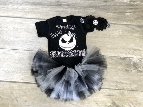 Pretty Little Nightmare Tutu Outfit