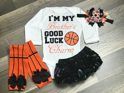 I'm My Brother Good Luck Charm 4pc Set - Paisley Bows