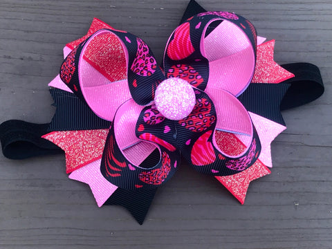 Valentine's Day Hair Bow Or Headband