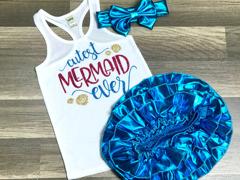 Cutest Mermaid Ever - Paisley Bows