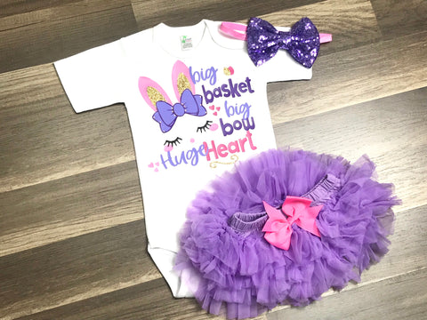Big Basket Big Bow HUGE Heart - Paisley Bows