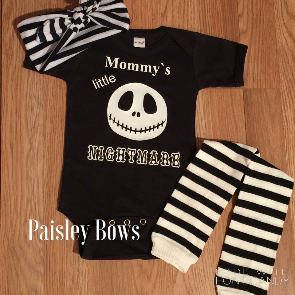 Mommy's Little Nightmare - Paisley Bows