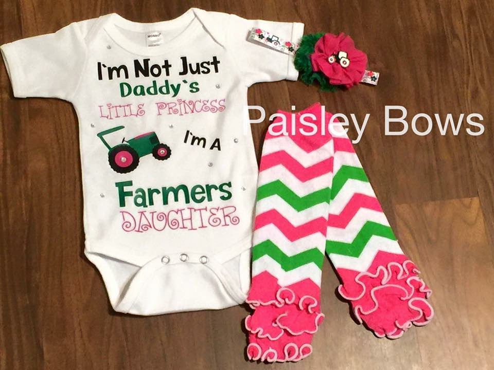 Farmer's Daughter - Paisley Bows