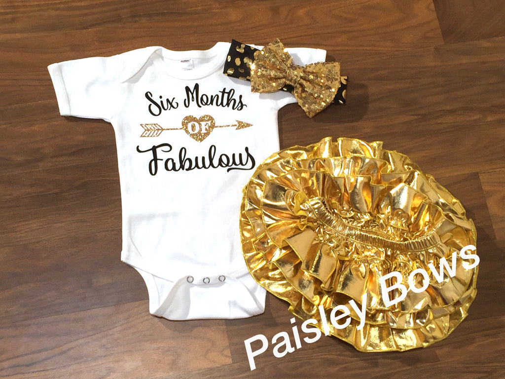 Six Months Of Fabulous - Paisley Bows