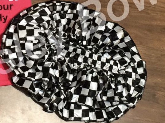Checker flag skirted bloomers - Paisley Bows