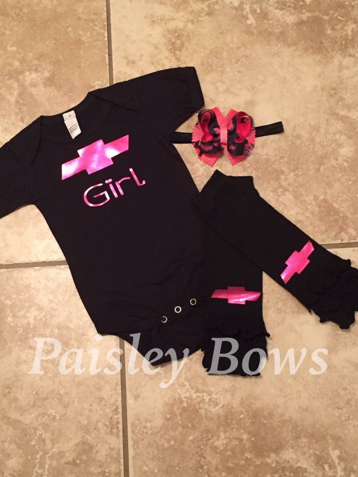 Chevy Girl - Paisley Bows