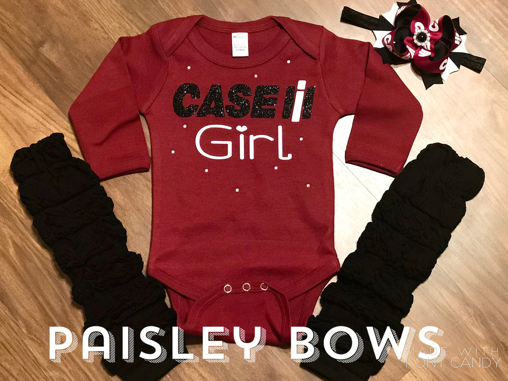 Case IH - Paisley Bows