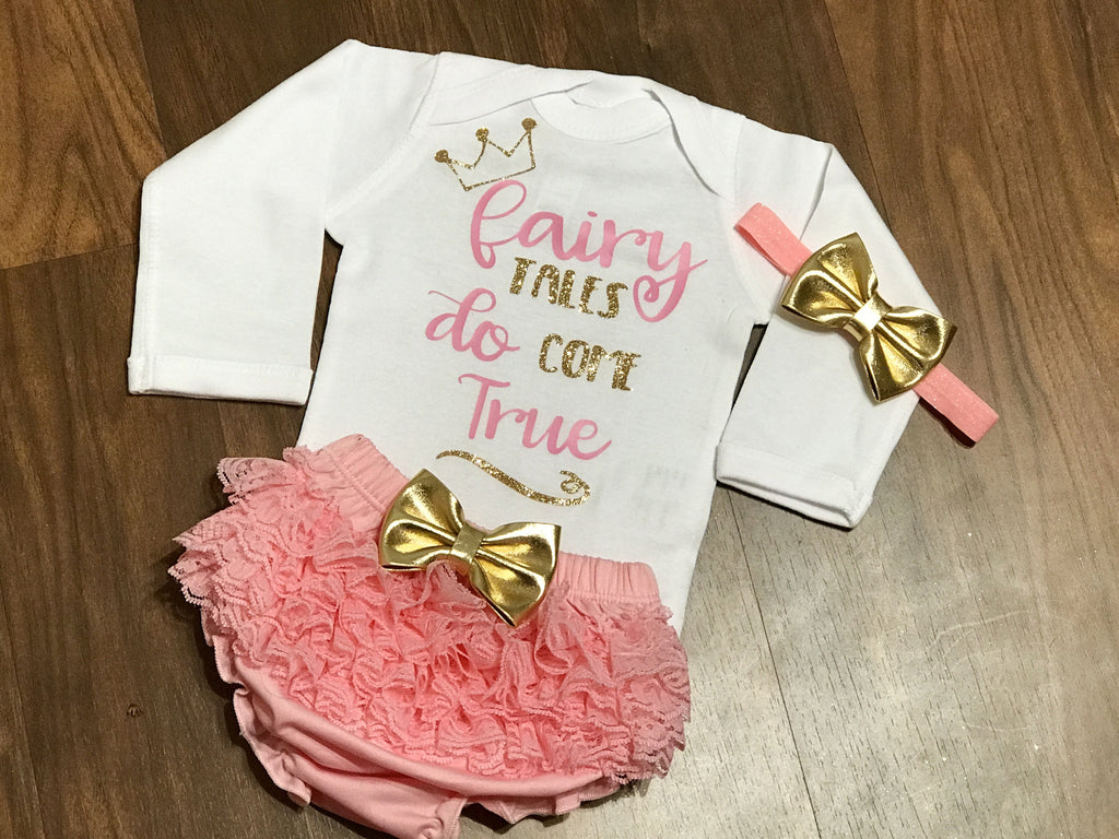 Newborn Fairy Tales Do Come True - Paisley Bows