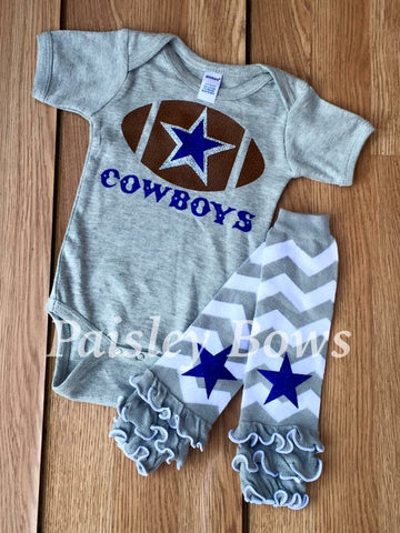 Dallas Cowboys - Paisley Bows