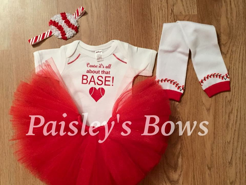 It's All About That Base TuTu outfit - Paisley Bows
