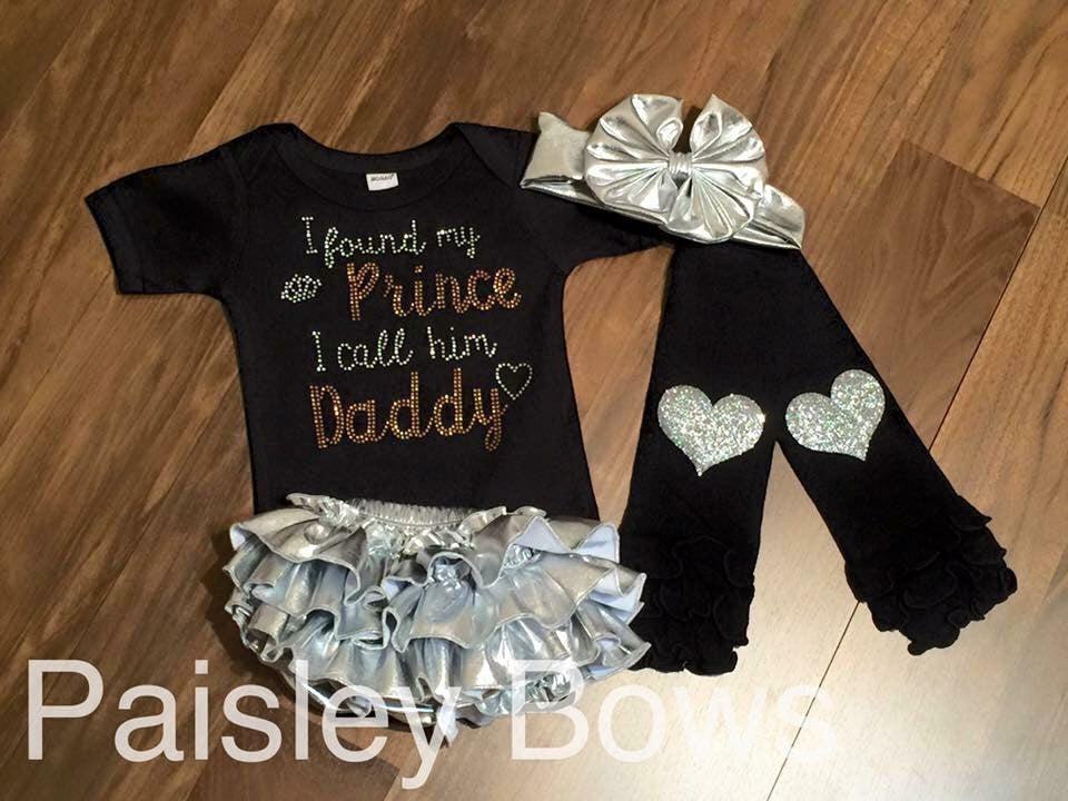 I Found My Prince I Call Him Daddy - Paisley Bows