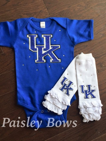 University of Kentucky - Paisley Bows