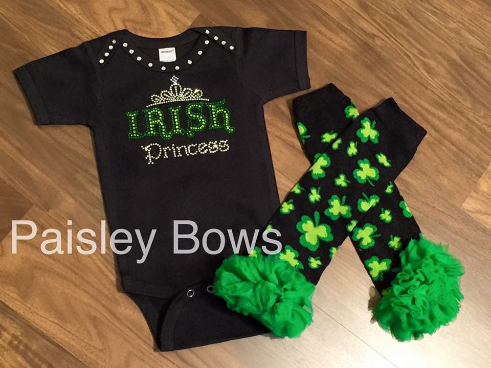 Irish Princess - Paisley Bows