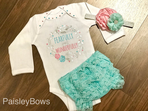 Fearfully and Wonderfully Made - Paisley Bows