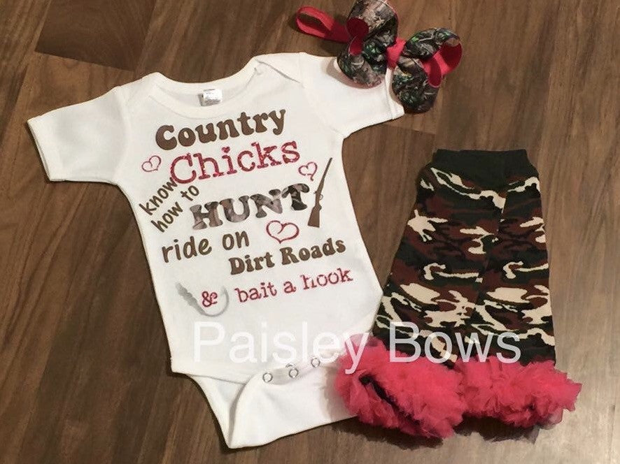 Country Chicks - Paisley Bows