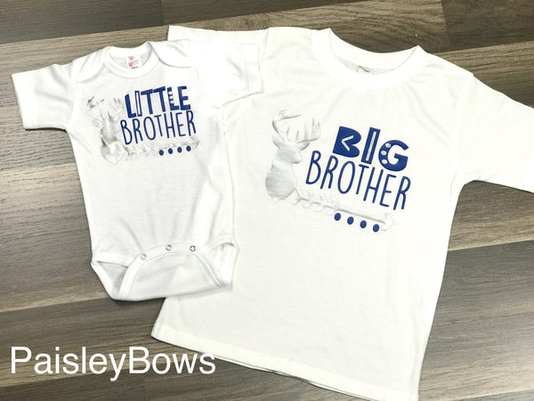 Big Brother Deer - Paisley Bows