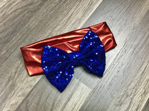 Sequin Fourth Of July Headband