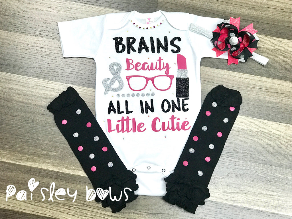 Brains And Beauty - Paisley Bows