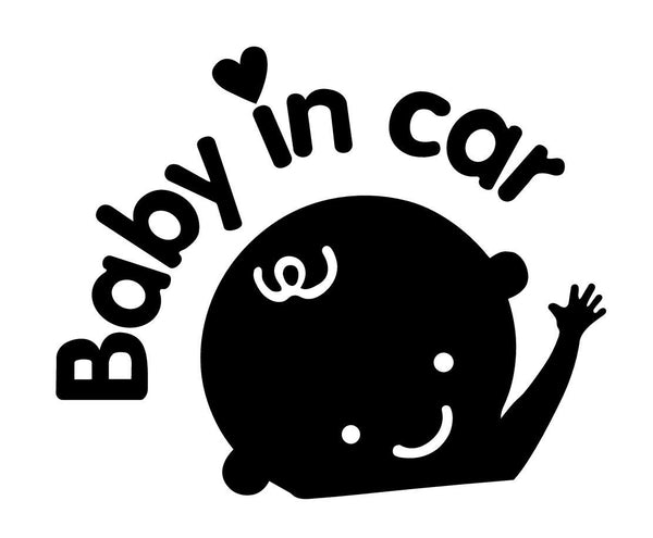 "Safety Sign ""Baby in Car"""