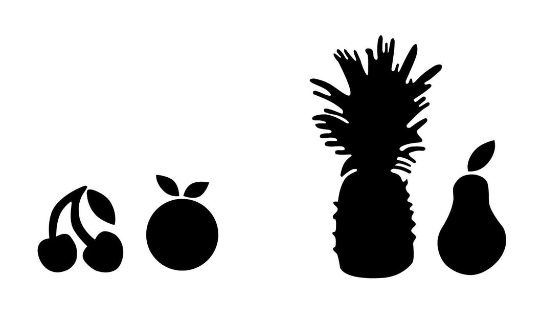 Macbook fruits
