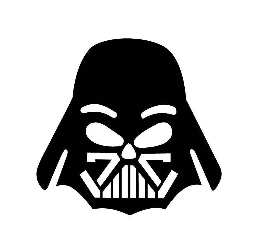 Darth Vader Apple Head