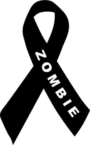 Zombie Awareness Ribbon