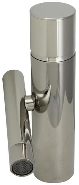 Jado Platinum Nickel Single Lever Block Vessel Faucet w/ Pop 841001.150 - Jenco Wholesale