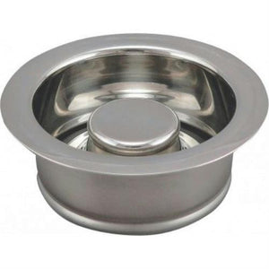 PlumbPak Garbage Disposal Flange and Stopper, Polished Chrome  #PP5417 - Jenco Wholesale