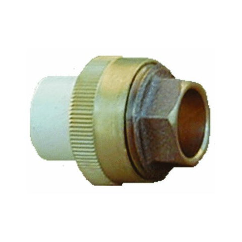 "1/2"" Union slip x brass slip 53033"
