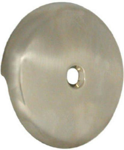 Danco Brushed Nickel Bath Drain Overflow Plate w/screw #89235 - Jenco Wholesale
