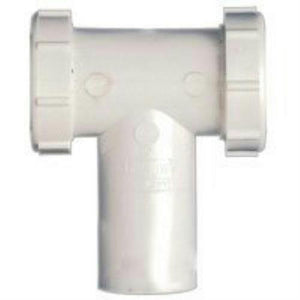"PlumbPak 1-1/2"" Center Outlet Tee and Tailpiece PP66-7W - Jenco Wholesale"