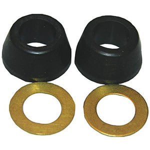 "Lasco 02-2237 3/8"" Rubber Cone Washer & Brass Ring - Jenco Wholesale"
