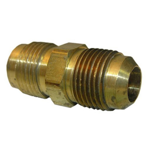 "Lasco 1/2"" x 3/8"" Reducing Brass Flare Union, 17-4247 - Jenco Wholesale"