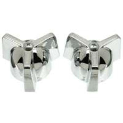 Danco Chrome Metal Kitchen/Lav/Tub/Shower Handles for Streamway, 1 pair, #80444
