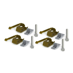 Danco Metal Under Mount Sink Clips, 4pk , #10530