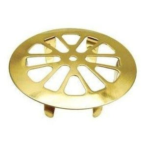 "Danco 2"" Polished Brass Snap-in Drain Strainer  #88928 - Jenco Wholesale"
