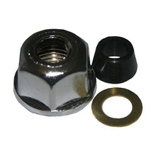 "Load image into Gallery viewer, Lasco Chrome Slip Joint Nut, 1/2"" Thread to 3/8"" Tube 03-1815 - Jenco Wholesale"