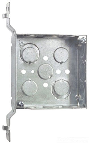 Steel City 52151V1234 Pre-Galvanized Steel Square Box w/ SV-Bracket