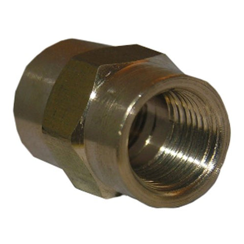 Lasco 17-9221 1/8-Inch Female Pipe Thread Brass Coupling - Jenco Wholesale