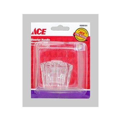 ACE Diverter Handle Streamway Style (Clear Acrylic), 4200101 - Jenco Wholesale