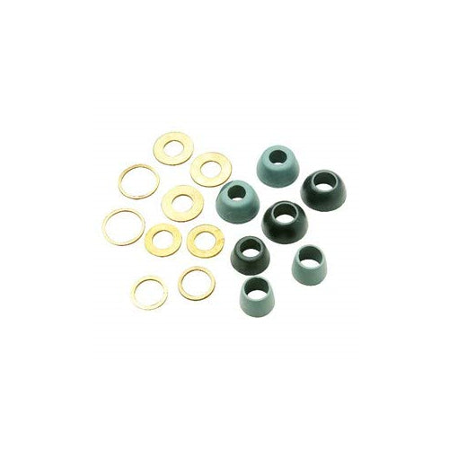 Ace Cone Washer Assortment with Friction Rings, 49279, 4 sizes