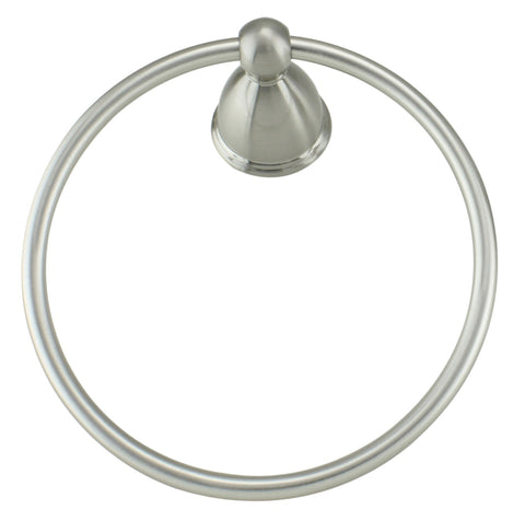 Danze Rosemont Brushed Nickel Towel Ring