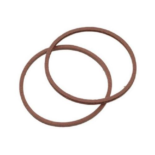 BrassCraft SC0202 Red Pressed Fiber Cap Thread Gasket - Jenco Wholesale